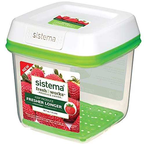 Sistema FreshWorks Medium Square Storage Container 1.5 L
