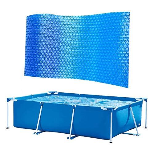Swimming Pool Solar Cover, Frame Pool Cover, Rectangular Swimming Pool...