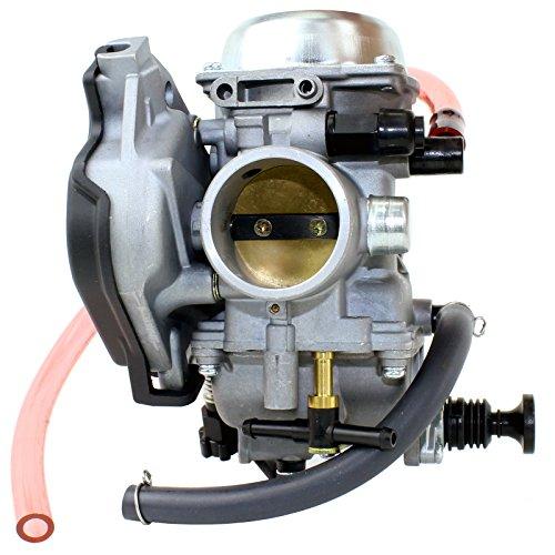 Caltric Carburetor Compatible With Kawasaki Prairie 400 Kvf400 Kvf 400 2X4 4X4 1999-2002