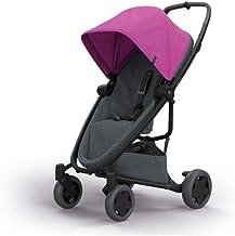 Quinny Zapp Flex Plus 婴儿车,时尚婴儿车,舒适灵活,轻便且非常紧凑,可折叠,适合出生时使用(例如带 Lux 婴儿床),不同款 颜色 pink on graphite
