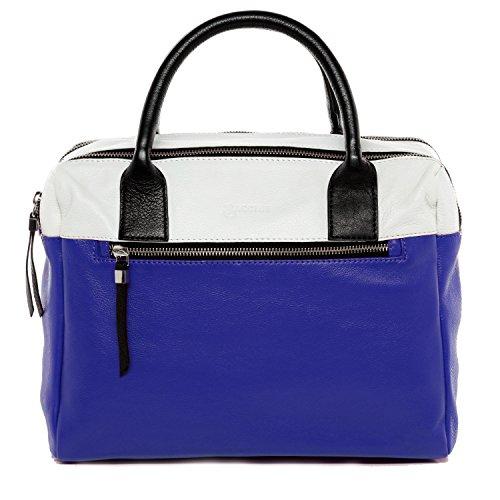 BACCINI Handtasche mit Schultergurt echt Leder GINA Henkeltasche Umhängetasche Ledertasche Damen Mehrfarbig