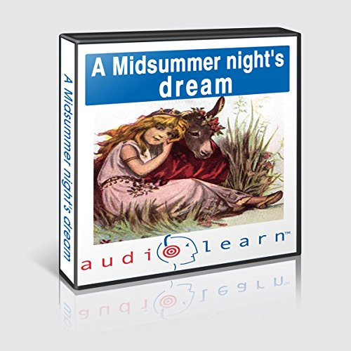 A Midsummer Night's Dream AudioLearn Study Guide audiobook cover art