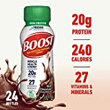 Best Energy Drink For Men - BOOST High Protein Complete Nutritional Drink, Rich Chocolate Review