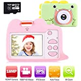 Best Digital Camera For Kids Age 10s - Ohuhu Kids Camera Toy with 2 Silicone Case Review
