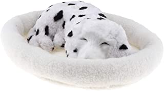CUTICATE Simulation Dog with Breath Ornament Adorable Soft Toy Cute Home Decoration - Dalmatian, as described