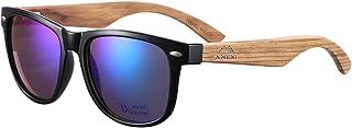 comprar comparacion GreenTreen Gafas de Sol Polarizadas Hombre y Mujere, UV400 Protection, Gafas Ligeras con Patillas de Madera