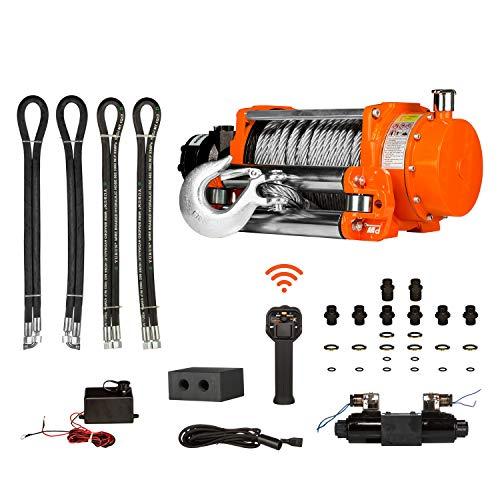 Prowinch Hydraulic Winch w/Roller 20000 lbs 24V Wired Control