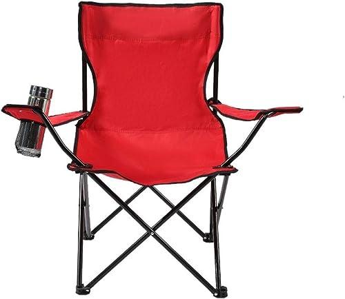 1949shop Chaise de Camping en Plein air Fauteuil Pliant Multifonctionnel de Chaise de Salon Multifonctionnel portatif Simple