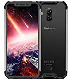 Blackview BV9600 Pro – Avanzado Dual Sim Smartphone Libre 4G LTE (2019), Pantalla 19:9 FHD AMOLED (Biseles Ultra Estrechos), Helio P60 6GB+128GB, IP68/IP69K Impermeable al Agua/Polvo - Plata