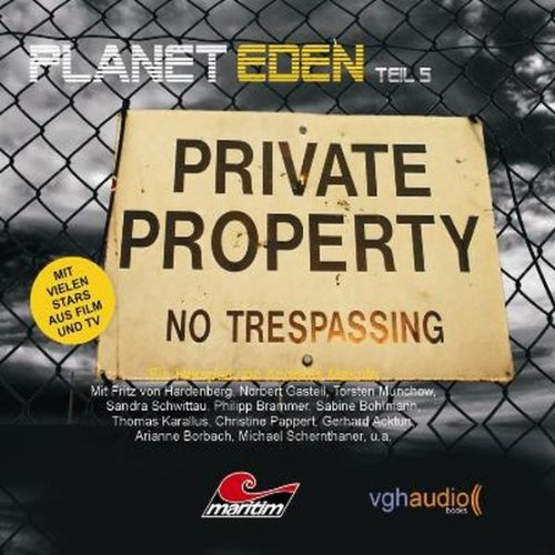 Planet Eden 5 audiobook cover art