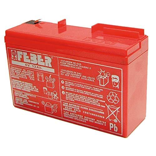 FEBER - Batería Recargable 6 V - 10 Ah (Famosa 800003103)