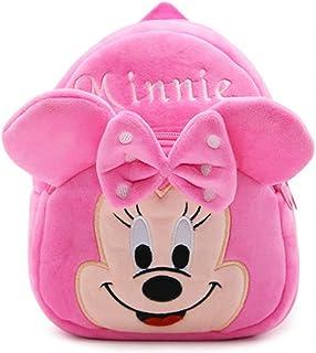 Mochila de Minnie, Mochila Guardería, Toddler Kids Mochila Escolar para Niños Pequeños, Mochila para 2-5 años