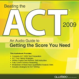 Beating the ACT, 2009 Edition audiobook cover art