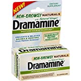 Best Medicine For Motion Sickness - Dramamine Non-Drowsy Naturals Motion Sickness Relief | 18 Review