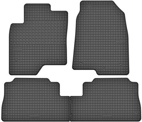 Motohobby Jeu de tapis de sol en caoutchouc pour Opel Antara (06-17) / Chevrolet Captiva (06-10) - Ajustement parfait
