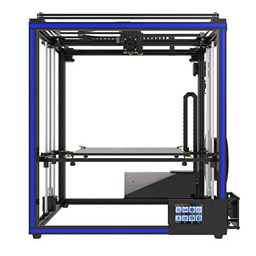 Z.L.FFLZ Imprimante 3D X5SA Grande imprimante 3D DIY DIY d'écran d'affichage à Cristaux liquides de Haute précision l'original démontable