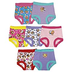 Potty training pants are perfect for bridging the gap between diapers to underwear and Includes handy potty training chart and stickers to track progress and success, both endorsed by PottyGenius.com Super soft combed cotton outter shell surrounds th...