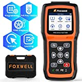 FOXWELL TPMS Sensor Relearn Tool T1000, Sensor Activation&Program Automotive Tools, Tire Pressure Monitor System, Key Fob Test Sersors (315/433MHz), Lifetime Free Software Update