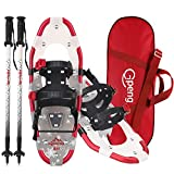 Best Snowshoes For Women - Gpeng 3-in-1 Xtreme Lightweight Terrain Snowshoes for Men Review