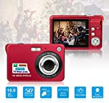 HD Mini Digital Cameras,Point and Shoot Digital Cameras for Kids Teenagers-Travel,Camping,Gifts