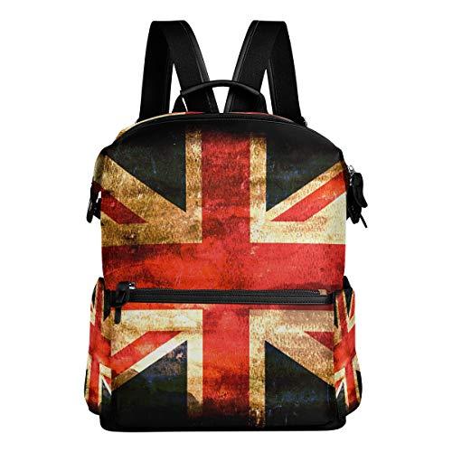 DEZIRO - Mochila de Viaje con Bandera de Inglaterra