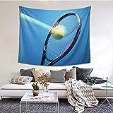N\A Tapisserie Murale, Couverture Murale de Raquette de Tennis Suspendue pour Salon Chambre Cuisine, décoration d'art de Tapis Mural