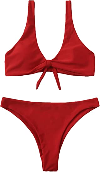 red bikini sets cheap