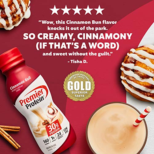 Premier Protein Shake Cinnamon Flavor