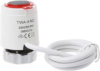 JOYKK Thermal Electric Actuator Flooring Heizungssystem Wasserabscheider für Verteiler   Weiß