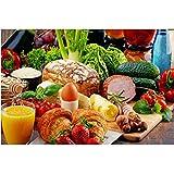NR Gemüse Brot Obst Küche Leinwand Malerei Restaurant