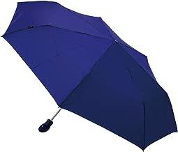 クニルプス(Knirps) 折りたたみ傘 ワンタッチ自動開閉式 ブルー 【正規輸入品】 FLOYD Duomatic KNF806-121