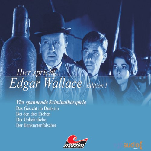 Edgar Wallace audiobook cover art