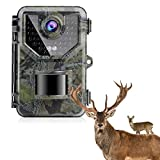 SESERN 1080P Up to 2.7K, 20MP Trail Camera Game Cameras Hunting Camera, IP66 Waterproof with 940nm No Glow Night Vision, 2.4' LCD 120°Detecting Range 0.2s Trigger Time Latest Sensor