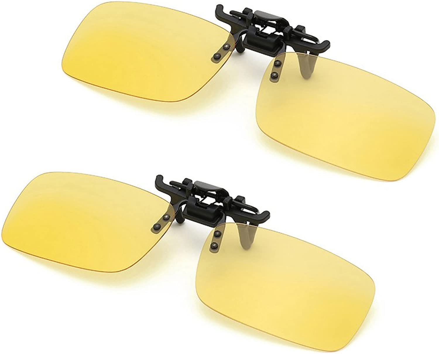 INRAN Clip On Flip Up Polarized Sunglasses by, Rectangle lens for Driving