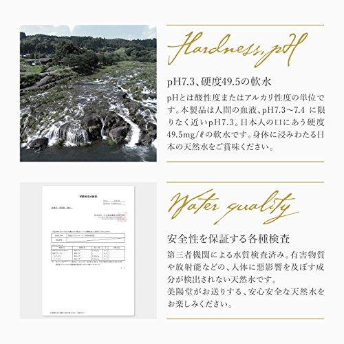 『美陽堂 ミネラルウォーター シリカ水 天然水 熊本県 阿蘇産 2L×12本』の3枚目の画像