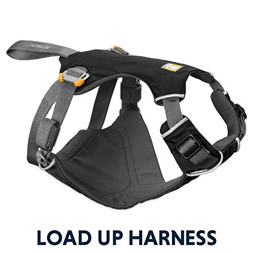 RUFFWEAR - Load Up, Dog Car Harness with Strength-Rated Hardware, Secure Vehicle Restraint,...