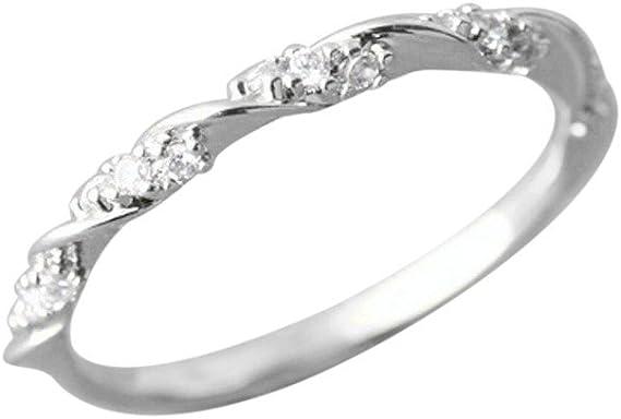 3 Piezas Set Hoja de Cristal Enchapados En Oro Plata Anillos dorados de nudillo anillo de dedo conjunto