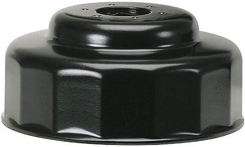 KS Tools 150.9321 - Clé 14 Pans à filtre à huile KS,3/8 Ø 65 mm - En matière Robuste et Résistante