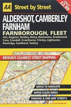Aldershot, Camberley, Farnham, Farnborough, Fleet