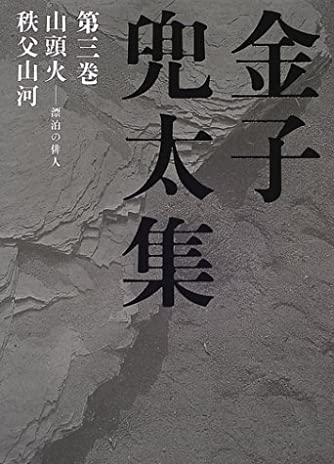 金子兜太集〈第3巻〉山頭火‐漂泊の俳人・秩父山河