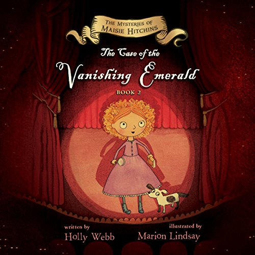 The Case of the Vanishing Emerald audiobook cover art