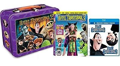 Hotel Transylvania Trilogy Blu-ray Collection: Hotel Transylvania / Hotel Transylvania 2 / Hotel Transylvania 3: Summer Vacation + 2 Mini-Movies + Lunchbox & Virtual Reality Activity Book [Bluray Set]