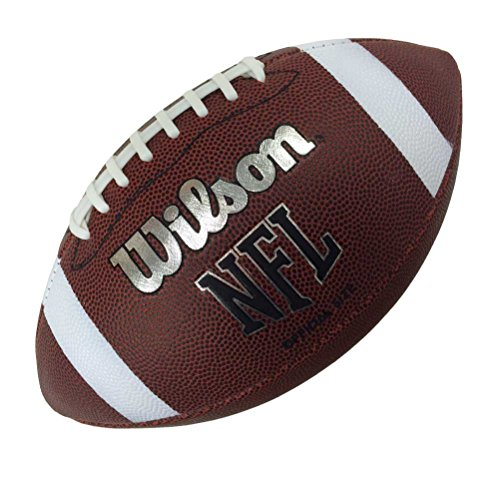 Wilson Unisex-Adult NFL OFF FBALL BULK XB American Football, OFFICIAL