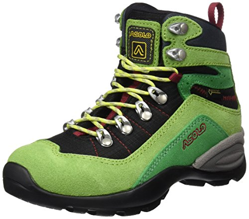 Asolo Enforce gV Jr Chaussures Unisexe Enfant, Enforce Gv Jr, Vert Citron/Noir