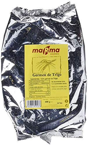 MARMA Germen de Trigo - 2 Bolsas de 400 gr - Total 800 gr