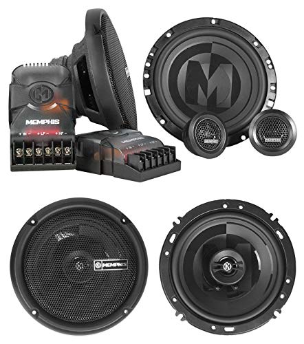 Buy Discount Pair Memphis Audio PRX60C 6.5 Component+PRX602 6.5 Car Audio Coaxial Speakers
