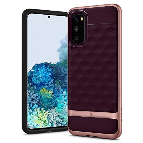 Caseology Parallax for Samsung Galaxy S20 Case (2020) 5G - Burgundy