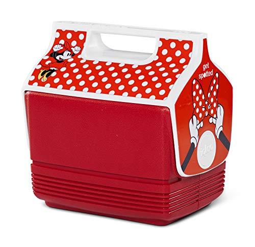 Igloo Disney Minnie Maus tragbare Lunchbox Playmate Mini Kühlbox Eisbox 4 Quart Limited Edition klein