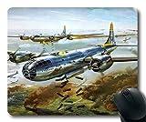 Yanteng Aviones de la Guerra Mundial, Alfombrilla de ratón, Pistolero de Combate 5e, Alfombrilla de ratón con Bordes cosidos