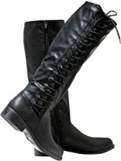 92fb998877f Cold Weather & Shearling Women's Knee High Boots   Amazon.com